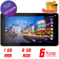 ★Планшет Samsung X7 (SH-718) 7 дюймов 1/8GB Allwinner A33 4 ядра Android 6.0 IPS 1024x600 Wi-Fi