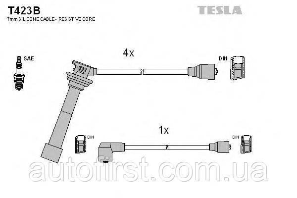 Высоковольтные провода Tesla T423B Suzuki