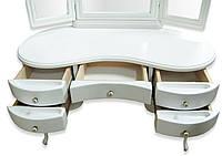 """Туалетный столик """"Натали"""" вайт, фото 1"""
