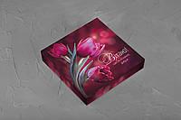 Подарочная коробка для конфет, красная