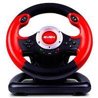 Руль USB Sven GC-W400 Black / Red (GC-W400)