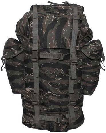 Рюкзак 65л тигровый камуфляж MFH 30253C, фото 2