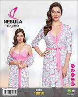 Комплект халат+ рубашка  NEBULA Турция