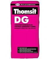 DG Thomsit самвыравнивающая гипсово-цементная смесь (3-30мм)25 кг.