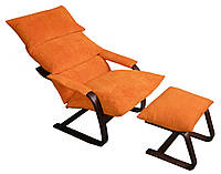 Кресло-качалка Relax подушки, без мягких подлокотников и без пуфа