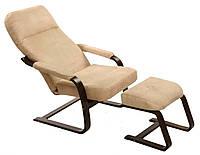 Кресло-качалка Комфорт +подлокотники+пуф