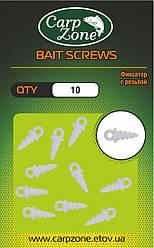Фіксатор з різьбленням BAIT SCREWS White