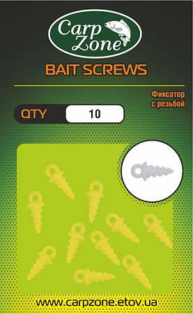 Фиксатор с резьбой BAIT SCREWS Yellow