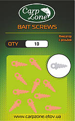 Фіксатор з різьбленням BAIT SCREWS Orange