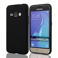 Силіконовий TPU чехол JOY для Samsung Galaxy J1 2016 Duos SM-моделі j120 чорний