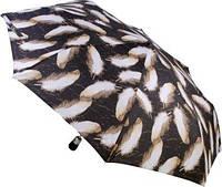 Женский зонт полный автомат Перьевая легкость