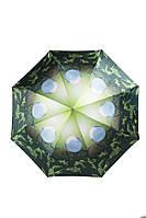 Женский зонт полный автомат Мыльные пузыри