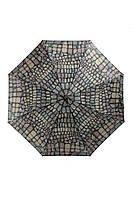 Женский зонт полный автомат кожа