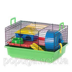 Клетка для грызунов, эмаль TEDDY+PL InterZoo 36*24*21 см