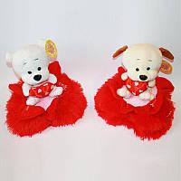 Мягкая игрушка 6044 животные на сердечке