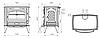 Отопительная печь Dovre 760 CB 13 кВт, фото 3