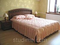 Спальний гарнітур з натурального дерева, фото 1