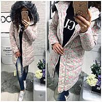 Куртка-пальто мод.№01504 (сезон зима, наполнитель холофайбер)