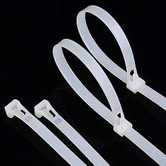 Кабельна стяжка нейлон 8 * 450 (білий) (100шт), фото 2