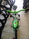 Детский велосипед Azimut Ksr 16 дюймов бело-салатовый, фото 6