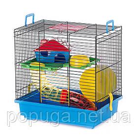 Клетка для грызунов, эмальTEDDY 1 BLACK+TUBE InterZoo 36*24*36 см