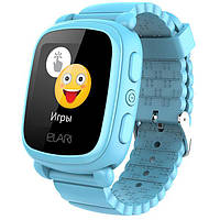 Смарт-часы детский Elari KidPhone 2 с GPS-трекером Blue (KP-2BL)