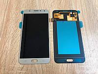 Дисплей на Samsung J701 Galaxy J7 Neo Серый(Silver),GH97-20904C, Super AMOLED!
