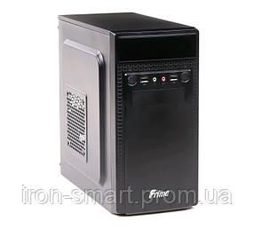 Корпус Frime FC-005B Black, 400W, 80mm, Micro ATX, 3.5mm х 2, USB2.0 x 2, 5.25' x 2, 3.5' x 2, 0.45mm