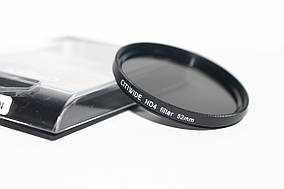 Нейтрально-серый светофильтр CITIWIDE 52 мм ND4