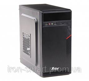 Корпус Frime FC-006B Black, 400W, 80mm, Micro ATX, 3.5mm х 2, USB2.0 x 2, 5.25' x 2, 3.5' x 2, 0.45mm