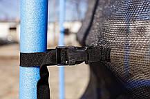 Батут GartenPlay 12ft (366cm) с внешней сеткой  для дома и спортзала, Львов, фото 3