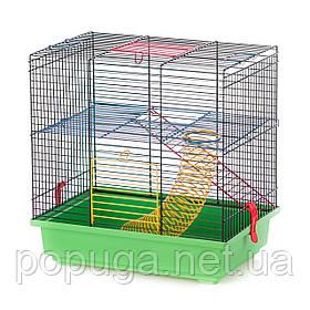 Клетка для грызунов, эмаль TEDDY 1+ EQUIPMENT InterZoo 36*24*36 см