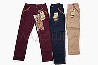 Котоновые брюки для девочки Glo-story 116-140р.