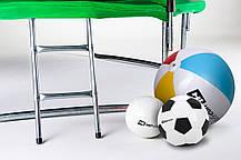Батут Hop-Sport 16ft (488cm) green с внутренней сеткой  для дома и спортзала, Львов, фото 3