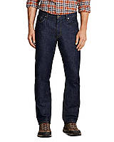 Модные мужские джинсы Eddie Bauer Mens Flex Jeans Slim Fit DK WASH