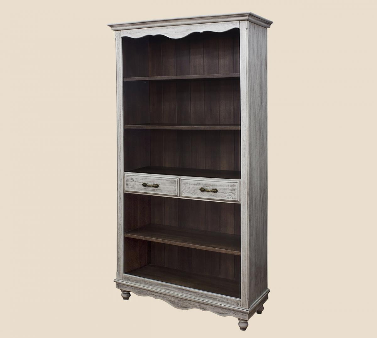 Шкаф для книг ПР-05 Прованс цвет на выбор  РКБ-Мебель