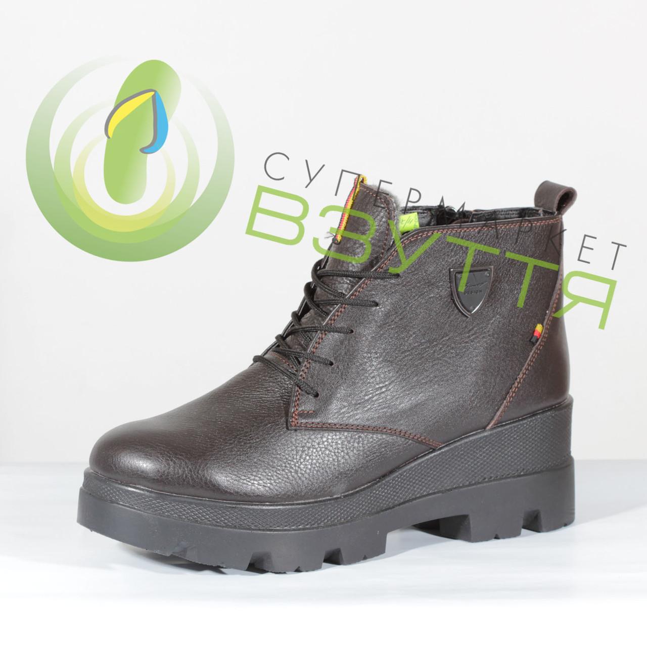 81fe071ea Кожаные женские зимние ботинки на платформе 39, 40 размер: продажа ...