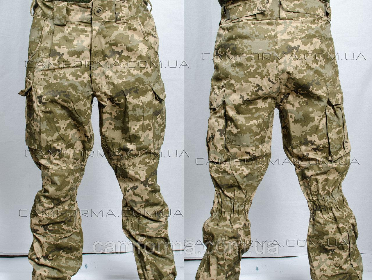 Тактические штаны пиксель ЗСУ