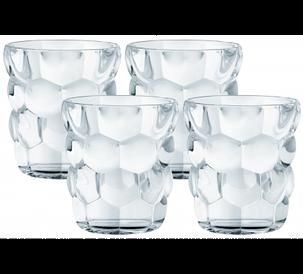 Набор стаканов для виски 330мл (4шт.) Bubbles