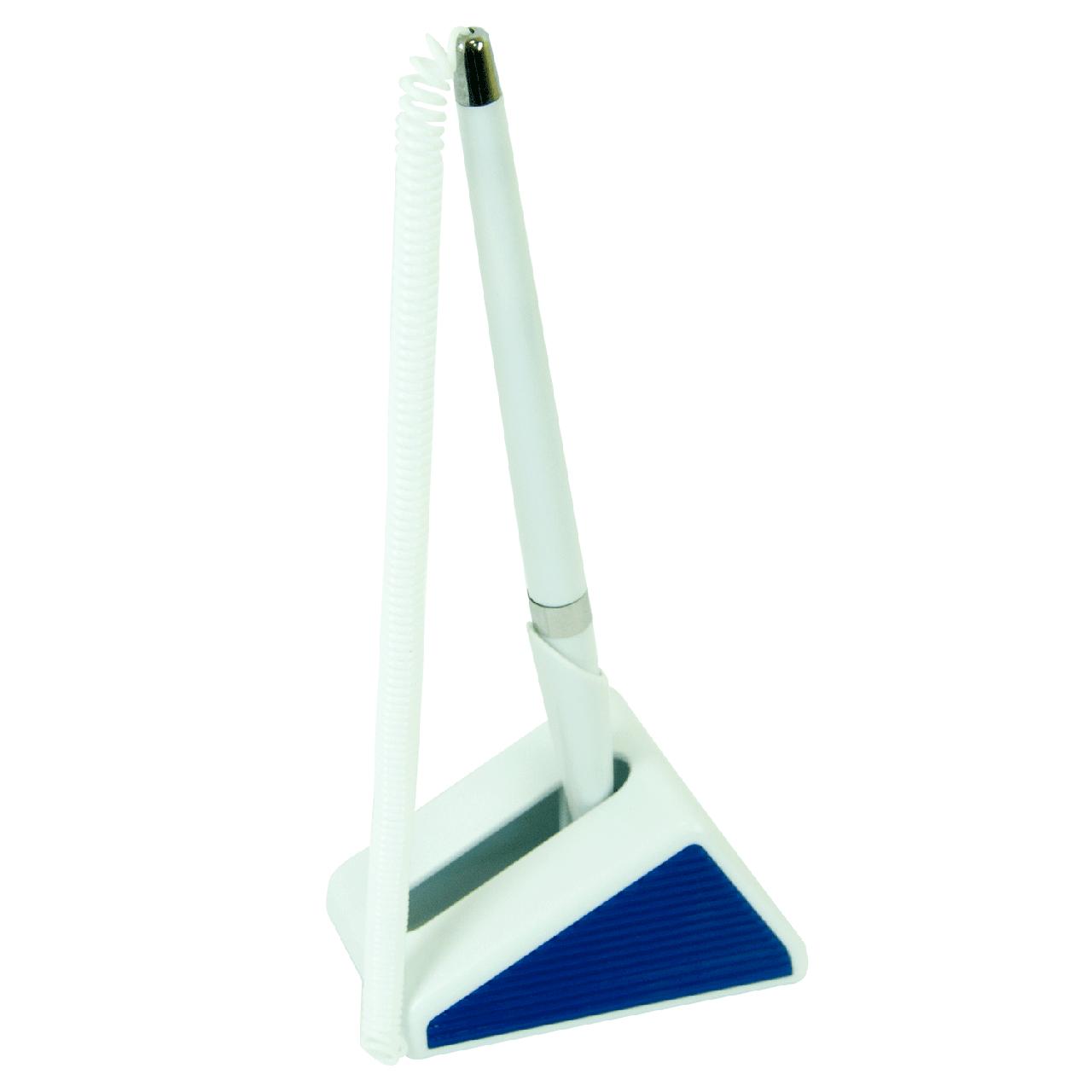 Ручка шариковая на подставке Buromax BM8143-01 синяя
