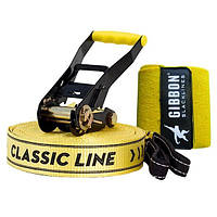 Слэклайн Gibbon CLASSICLINE XL X13 TREE PRO SET 25 m Slackline Set