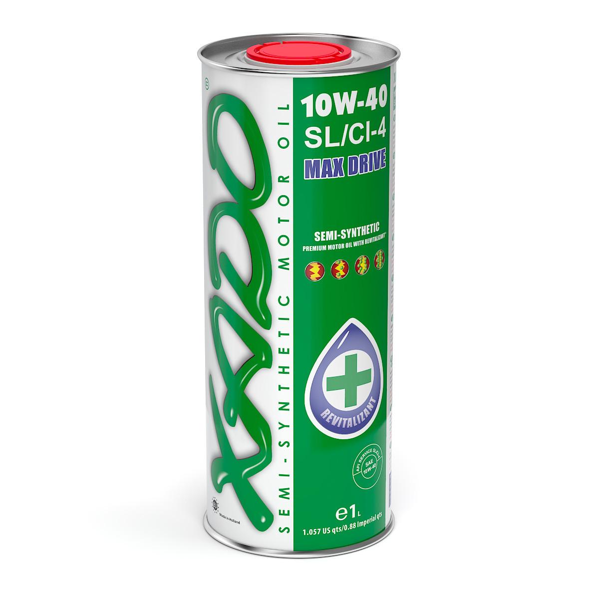 Полусинтетическое моторное масло ХАДО (XADO) Atomic oil 10w-40 1 л