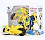 Бамблби-мотоцикл, трансформеры Боты-спасатели 11 см, Rescue Bots , фото 5