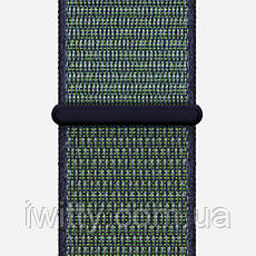 Watch Series 3 Nike+ Cellular 42mm Space Gray Aluminum withMidnight Fog Nike Sport Loop(MQLH2), фото 3