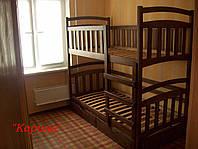 """Ліжко двоярусне """"Карина"""", з ящиками"""