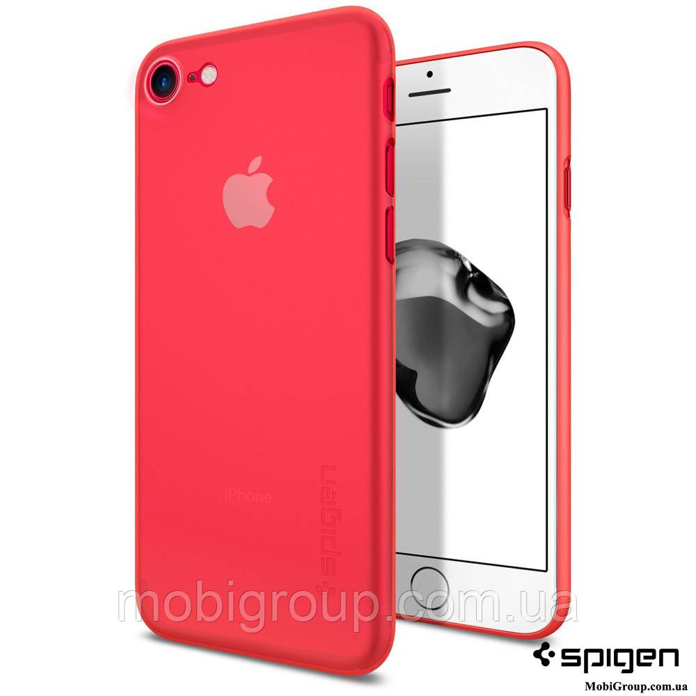 Чехол Spigen для iPhone 7 / 8 Air Skin, Red