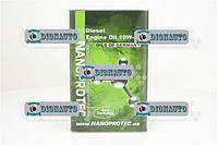 Масло NANOPROTEC Diesel 10W40 4л (полусинтетика)  (10W40)