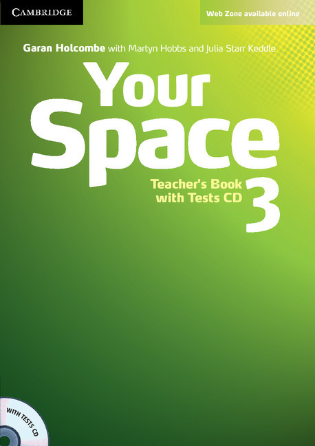 Your Space 3 Teacher's Book with Tests CD (книга учителя)