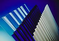 Монолитный профилированный (волна, трапеция ) поликарбонат Borrex