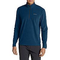 Флисовая кофта мужская  Eddie Bauer Mens Quest Fleece 1/4-Zip Pullover COAST